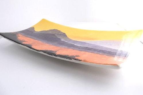 Rectangular Swoop Platter