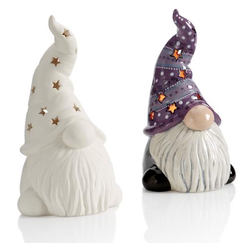 Tall hated gnome lantern