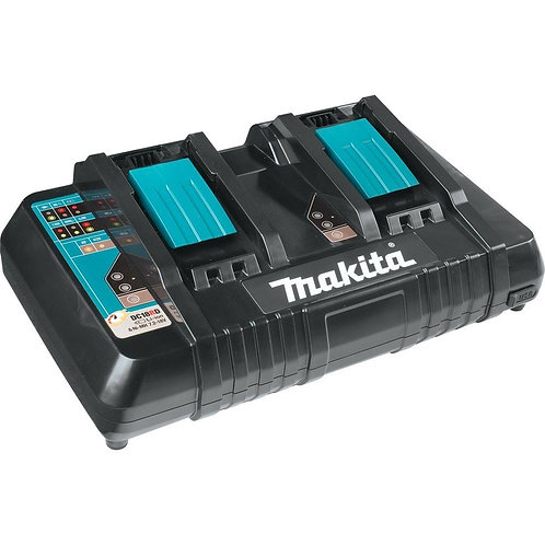 Makita DC18RD 7.2-18v Ni-MH / Li-Ion Dual Port Twin Rapid Optimum Charger