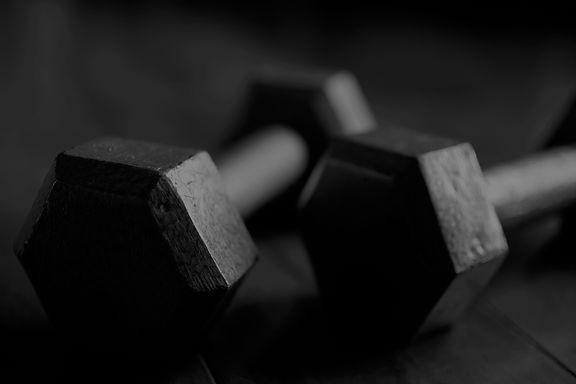 weights; dumbbells