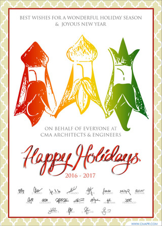 To all of you, Happy Holidays & Best Wishes