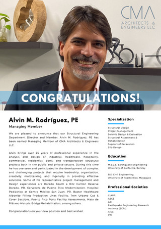 Congratulations to our new Managing Member!