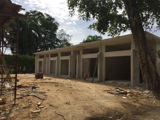 West Beach Garages construction is progressing rapidly at Dorado Beach