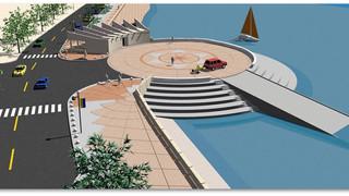 Paseo de la Real Marina - Phase I completed