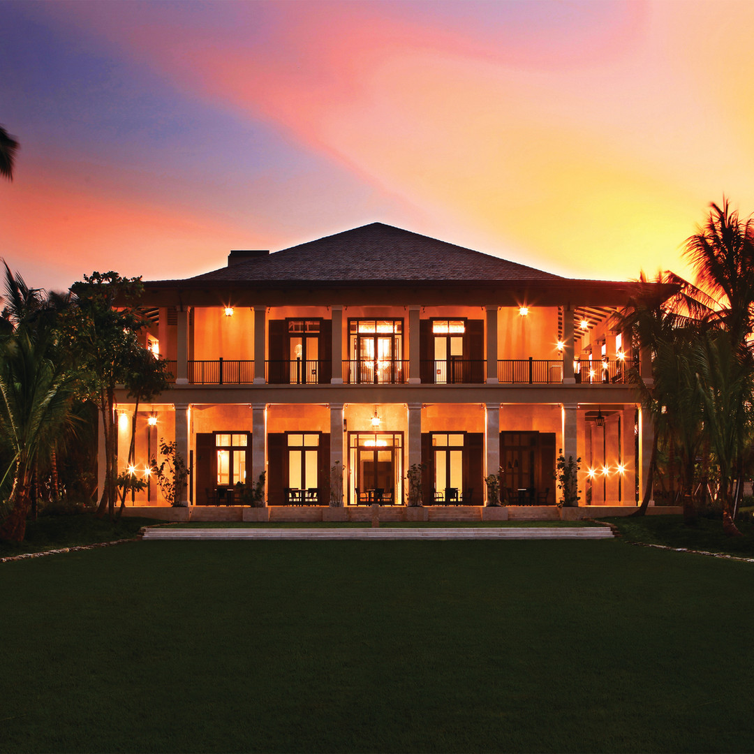 Plantation House Night High Resolution A