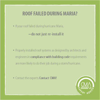 ROOF FAILED DURING MARIA?