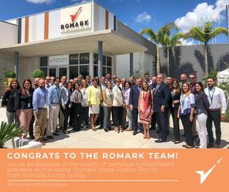Congrats to the Romark Team!