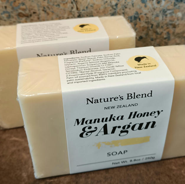 Manuka Honey & Argan Soap