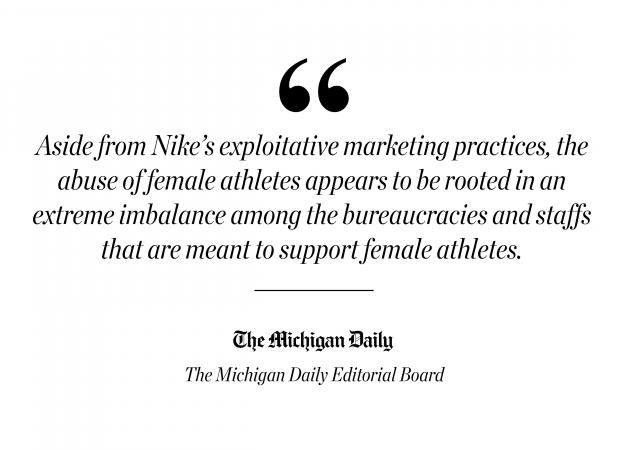 On Nike's hypocritical misogyny