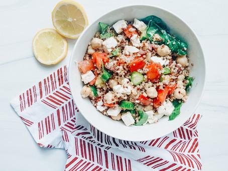 Mediterranean Quinoa Bowl - The Perfect Macro-Friendly Meal