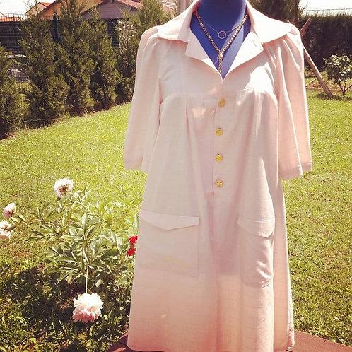 Robe en viscose et lin (à partir de)
