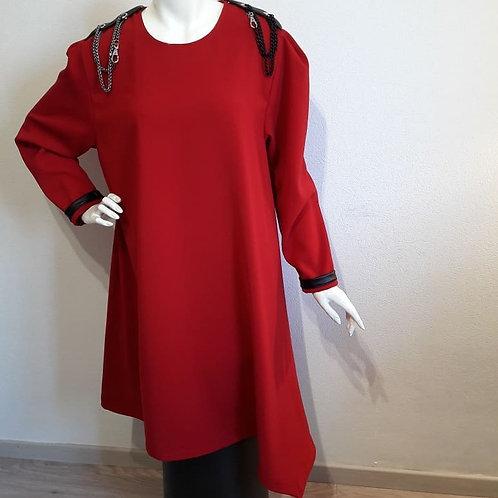 Robe asymétrique Marua (à partir de)