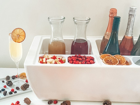 Setting Up the Perfect Mimosa Bar just Got Insanely Easy!