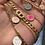 Thumbnail: Lichtroze smiley ketting