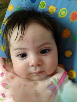 Lactantes 45 días de nacidos