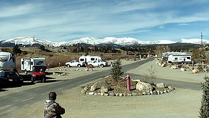 RV park on Middle Fork in Fairplay