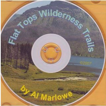 MAP CD: Flat Tops Wilderness Trails