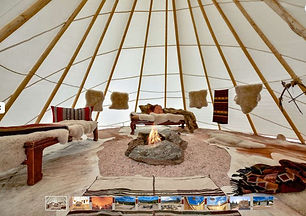 Glamping  and lodge