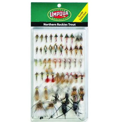 Umpqua Fly Assortment North Rockies GUIDE