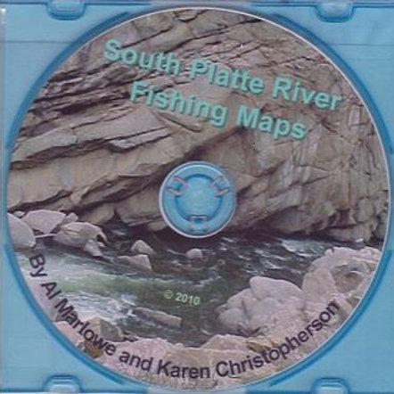 MAP CD: South Platte River Fishing Maps