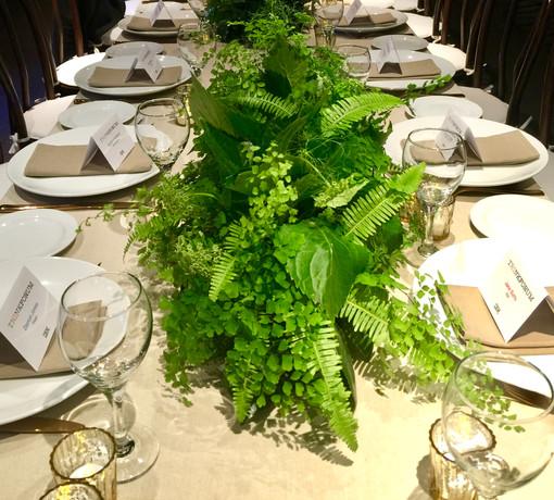 Fern Table Centre arrangements
