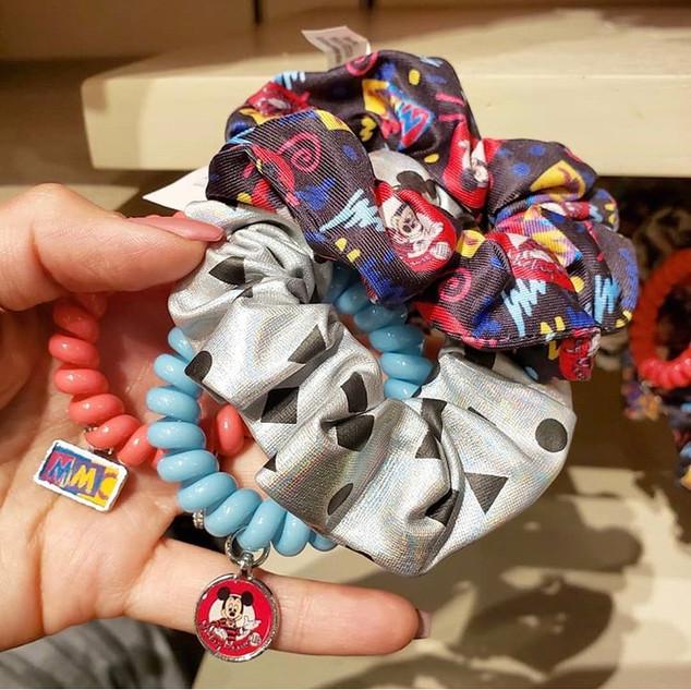 Disney Parks Retro Scrunchies