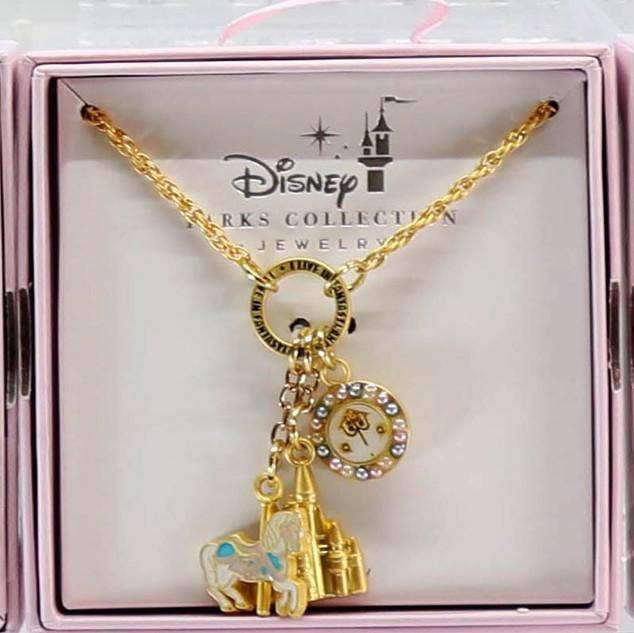 Disney Parks Fantasyland Necklace