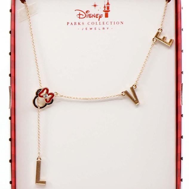 Disney Parks Minnie Necklace