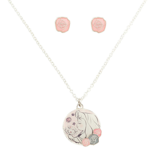 Shop Disney Aurora Necklace Set