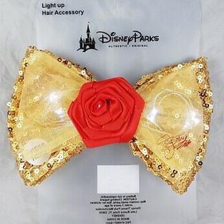 Disney Parks Light Up Belle Hair Bow