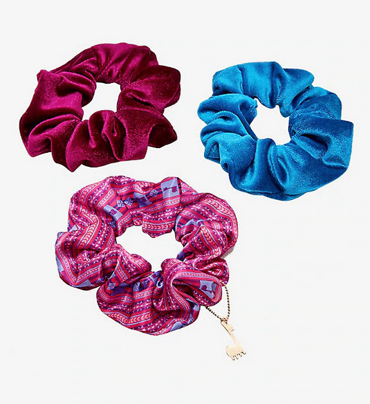 Hot Topic Emperor's New Groove Scrunchies