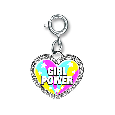 CharmIt Girl Power Charm