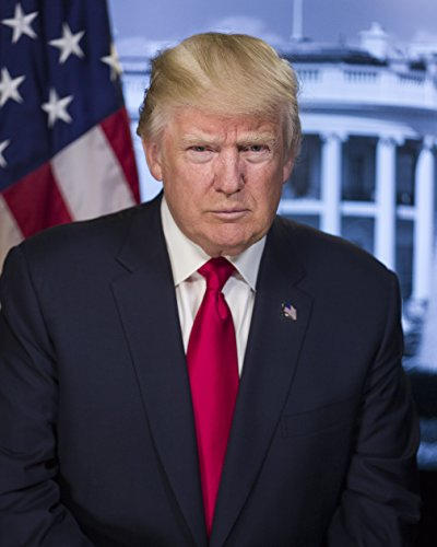 President of the United States      Donald J. Trump