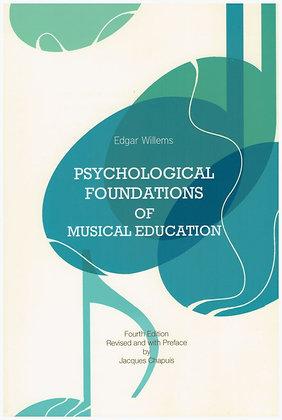 Psihološke osnove glasbenega izobraževanja. Jezik: angleščina
