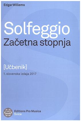 Edgar Willems: Solfeggio - začetna stopnja