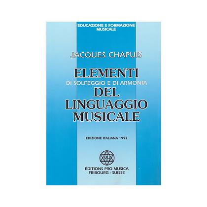 Elementi solfeggia in harmonije v glasbenem jeziku