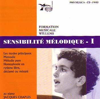 Melodična občutljivost 1