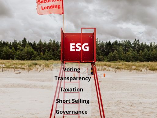 Red Flags for Securities Lending and ESG?