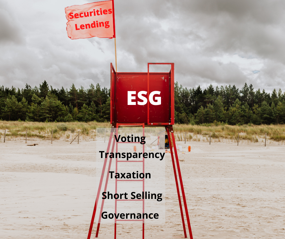 Securities lending and ESG