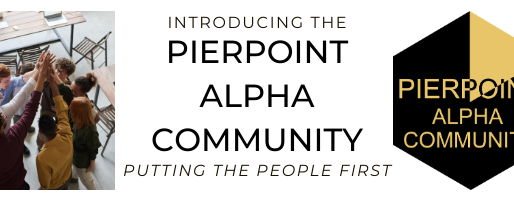 Introducing: Pierpoint Alpha Community!