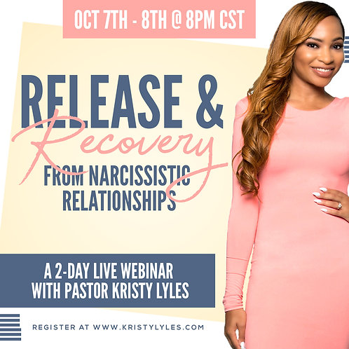 Release and Recovery from Narcissistic Relationships Replay