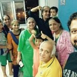 Anand Tiwari with his family