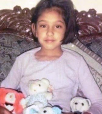 Niti Taylor's Childhood Photo