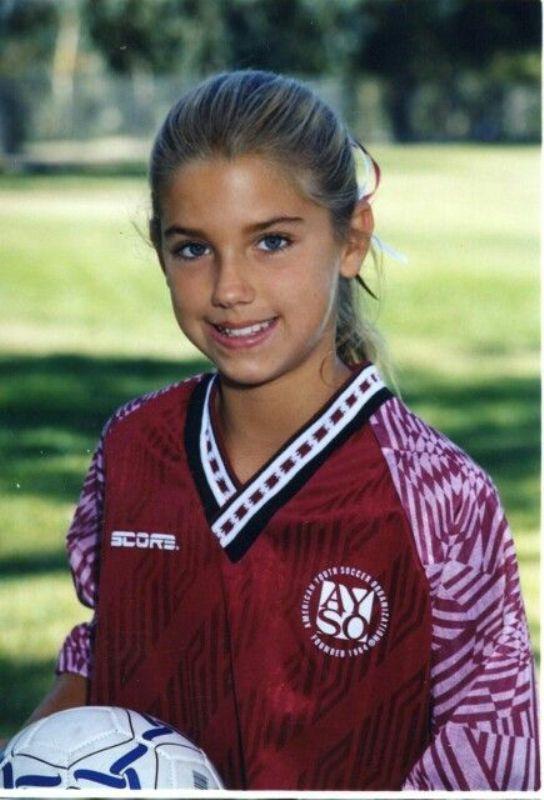 Alex Morgan In Her Teenage