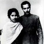 Damayanti Sahni with husband Balraj Sahani