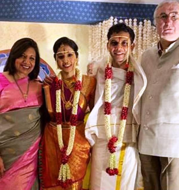 Aparna Krishnan's Wedding Picture