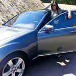 Demi Moore's Mercedes-Benz