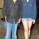 Alia Bhatt With Her Father Mahesh Bhatt