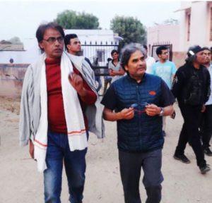 Charan Singh With Vishal Bhardwaj