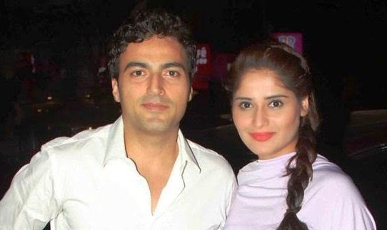 Arti Singh with Ayaz Khan